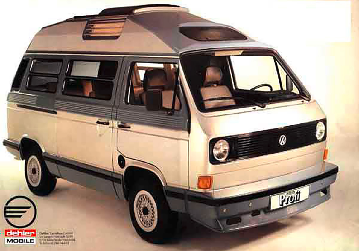 VW T3 Dehler Profi 1981