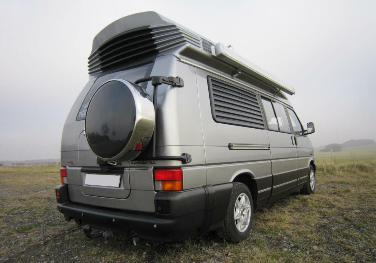dehlerfreun.de | VW T4 Dehler Optima 5.4. Syncro| mit Reserveradhalter | © am